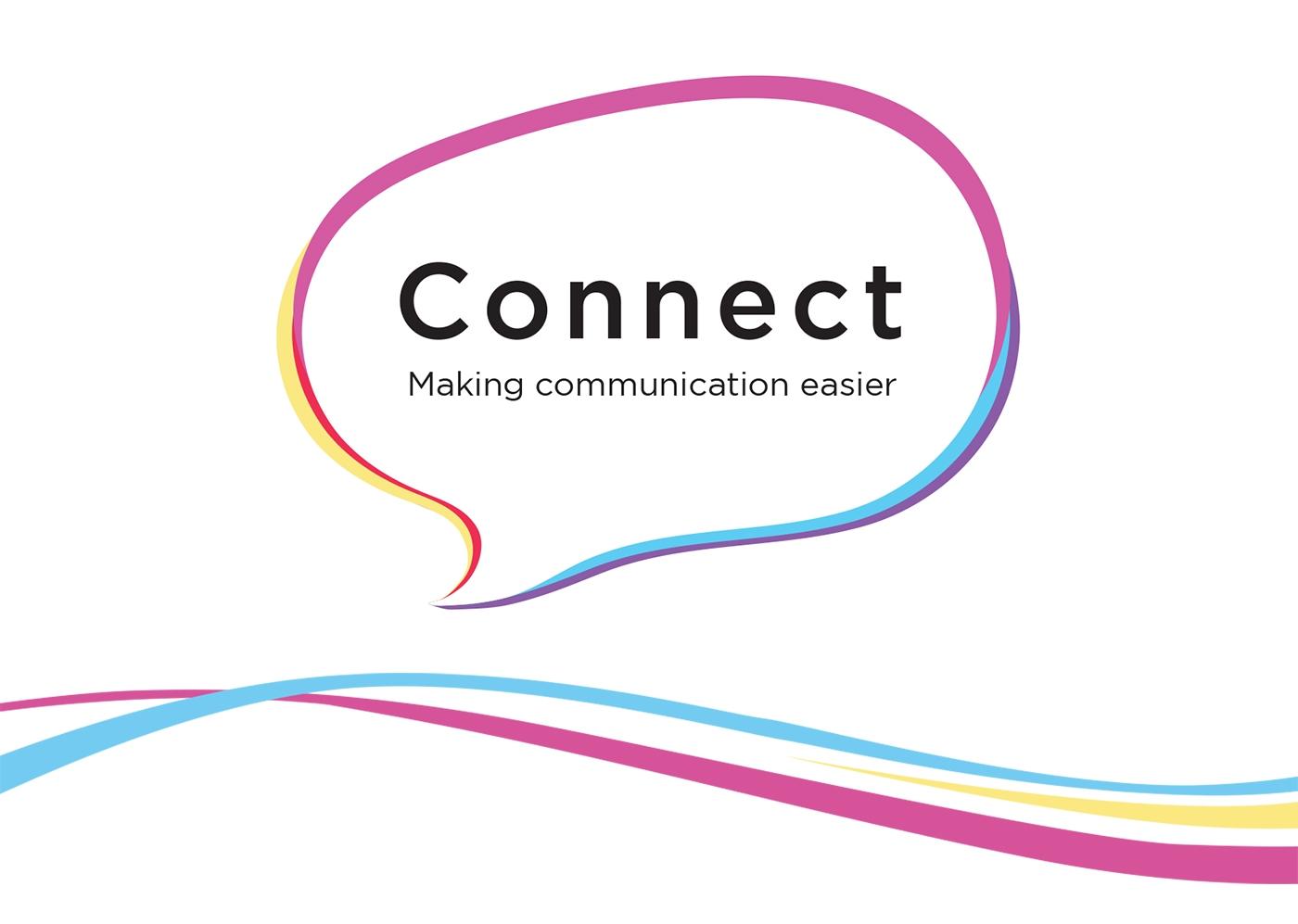 Connect webiste header